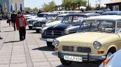 Das Welttreffen der Bremer Kultauto-Marke lockte Hunderte Fans an die Waterfront