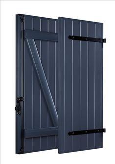 Menuiseries et volets aluminium Gris sablé 2900 | Idée maison ...