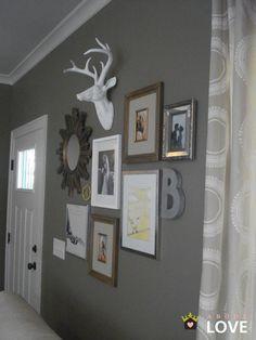 39 Cute Deer Decor Ideas For Cozy Christmas Spaces - Dailypatio Room Decor, Decor, Deer Decor, Gallery Wall, Home, Interior, Wall, Home Decor, Room
