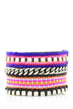 Stack 'em: Chic Evening Bracelet Set by Kim & Zozi on @HauteLook