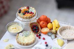 Kitchen Table - Fruit Tart by PetitPlat - Stephanie Kilgast, via Flickr