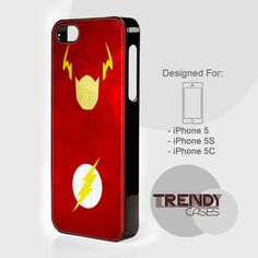 iPhone Case The Flash Superhero, iPhone 4/4S/4G Case, iPhone 5/5S/5C, Samsung galaxy S3/S4