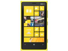 Nokia Lumia 920 - Nokia's new flagship WP8 phone, with a design intended to reflect the OS's Live Tiles.