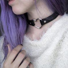 OMG! I love this #choker! So beautiful!#dyehair #gothgirl #alternativegirl #pastelgoth