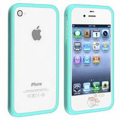 blue iphone bumber case