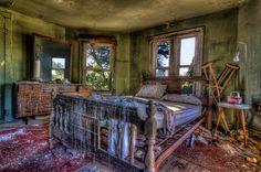 Left Behind, photography by Kyle Wilson - The Killmarnock House
