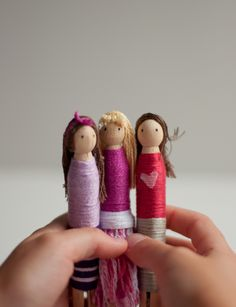 Tea party with some homemade clothespin dolls? Yes, please! #KidsStuffWorld