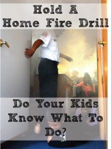 Home Fire Drills Could Save Your Life - Are you ready? - Little Learning Lovies