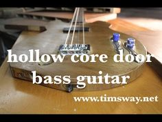 Building a Bass Guitar from a Hollow Core Door | Make: DIY Projects and Ideas for Makers