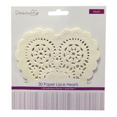 Dovecraft Doilies - Heart | Craft Superstore