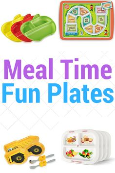 Meal times can be difficult. A fun plate could make all the difference!