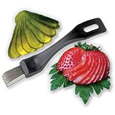 Cherry Queen Pickle Slicer Garnishing Tool Deep Fried Pickles - Kitchen Tools  #DiningEntertaining