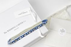 acela something blue velvet wedding garter by the wedding garter co | notonthehighstreet.com