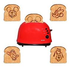 where do I get one of these Mickey & Friends Toaster Mickey Mouse Pop Art, Mickey House, Mickey Mouse Kitchen, Disney Kitchen Decor, Disney Home Decor, Disney Crafts, Mickey Decorations, Disney Dishes, Disney Bedrooms