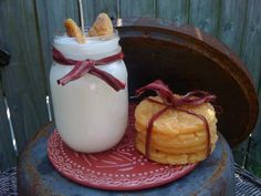 Milk and Cookies  16 oz. Jar Candle  by DebsCandlesandDreams, $17.99