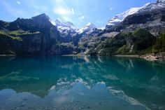 Oeschinensee, Switserland | Discover the #Alps
