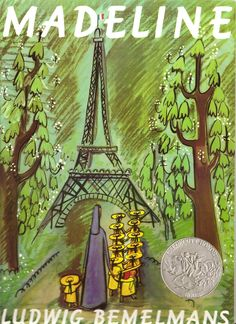 """In an old house in Paris that was covered with vines  Lived twelve little girls in two straight lines  In two straight lines they broke their bread  And brushed their teeth and went to bed.  They left the house at half past nine  In two straight lines in rain or shine-  The smallest one was Madeline.""      ― Ludwig Bemelmans, Madeline"