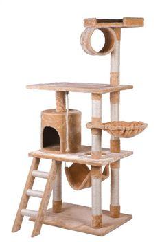 Amazon.com : Merax Cat Tree Condo House, Beige / Coffee : Pet Supplies | @giftryapp