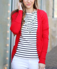 3f3866d9dc 23 Best Red cardigan outfits images