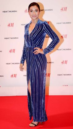 Gauahar (Gauhar) Khan at H&M's store launch bash in Mumbai. #Bollywood #Fashion #Style #Beauty #Hot #Sexy