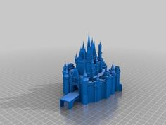 The 3D printing kit site Thingiverse has uploaded plans for printing a reproduction of Cinderella Castle at the Magic Kingdom.