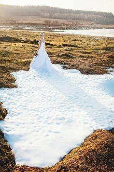 WOW! me encanta el efecto #winterwedding
