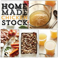 Homemade Chicken Stock Recipe via Sweet Paul