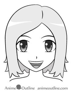 How to Draw Anime and Manga Mouth Expressions Tutorial - AnimeOutline Smile Drawing, Mouth Drawing, Water Drawing, Drawing Stuff, Manga Mouth, Person Sketch, Art Sketches, Art Drawings, How To Draw Anime Eyes