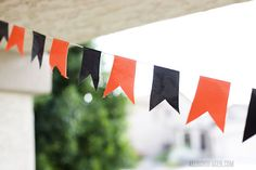 duct tape halloween banner