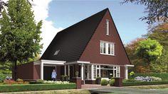 Huis bouwen villa Icarusblauwtje voorzijde