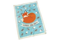Rex - Torchon renard dans sa boîte cadeau - Rex, Mes Habits Chéris - kidstore Récréatif - Décoration enfant