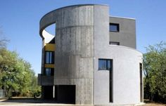 Square House in the cylinder by Dariusz Kozlowski (Poland)