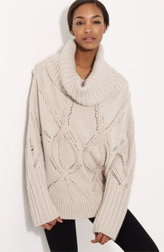 this sweater makes me so ready for fall, but not for $2500. yikes!