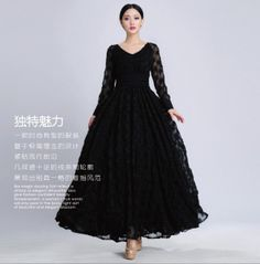 43cc771918a4d Off Black Organza Dress Gown Formal Prom Party Dress Embroidered Tulle  Chiffon A-line Dress Full Pleated Skirt Ball gown Holiday Evening