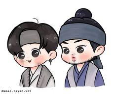 Jungkook Fanart, Kpop Fanart, Bts Taehyung, Bts Bangtan Boy, Chibi Characters, Disney Characters, Fictional Characters, Bts Blog, Kpop Drawings