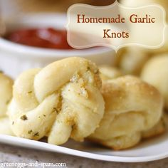 Garlic Knots Recipe http://cookinginbliss.com/garlic-knots-recipe/ #recipes