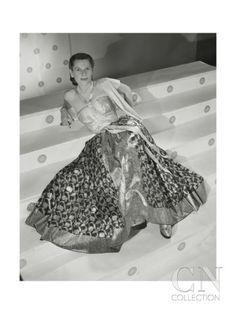 Vogue - July 1947 Premium Photographic Print