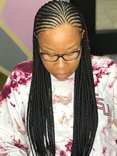 Pin By Ehjaylyn Henry On Braided Hairstyles In 2019 Braided - thick cornrow hairstyles cornrow hairstyles with extensions Black Girl Braids, Braids For Black Hair, Girls Braids, African Braids Hairstyles, Braided Hairstyles, Natural Hair Styles, Short Hair Styles, Beautiful Braids, My Hairstyle