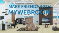 How To Be Social With myWebRoom | Blog