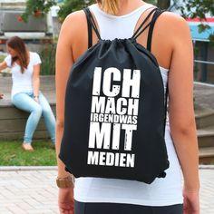 Bedruckter Rucksack - Ich mach irgendwas mit ... | geschenke-online.de