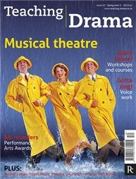 Teaching Drama - brilliant magazine of resources for drama teachers - currently available free online. Just enter code DFW14