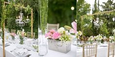 """Outdoor-botanical-garden-wedding-meal"""