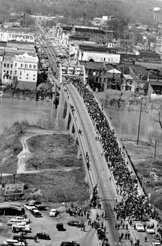 Black History Continues Into March: Bloody Sunday Anniversary Celebrated In Selma, Alabama With VP Joey B. & U.S. Rep John Lewis Along With Estimated 5000 Marchers.