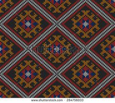 Abstract Tribal Aztec Seamless Pattern. Geometry Vector illustration