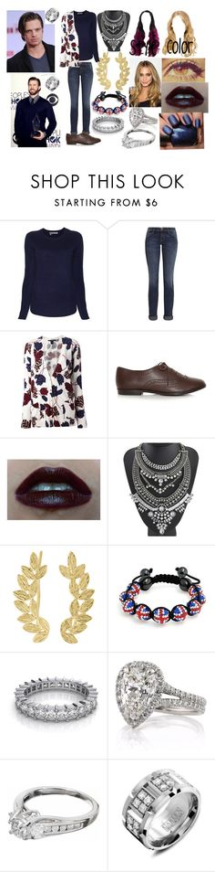 """""""Keeping Up With Kaia Kardashian (Chris Evans and Sebastian Stan Love Story)"""" by anaeve ❤ liked on Polyvore featuring 360 Sweater, Current/Elliott, Marc by Marc Jacobs, OPI, Eddera and Bling Jewelry"""