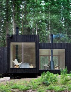 wood / tiny house