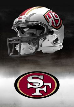 Possible San Francisco 49er helmet