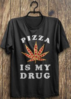 Black - Large | Pizza shirt Pizza top funny pizza t shirt pizza by TrendingTops