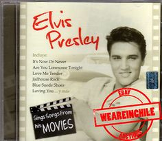 Elvis Presley sings songs from his movies made in Chile cd Are You Lonesome Tonight, Jailhouse Rock, Blue Suede Shoes, Songs To Sing, Love You, My Love, Elvis Presley, Digital Camera, Chile
