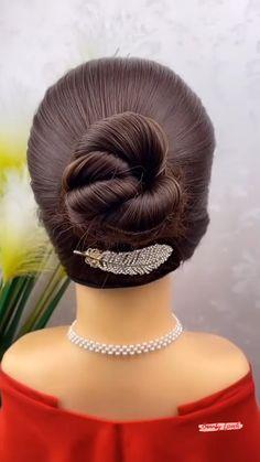 Short Hair Styles Easy, Medium Hair Styles, Natural Hair Styles, Easy Hairstyles For Long Hair, Diy Hairstyles, Hairstyle Tutorials, Hair Band For Girl, Girl Hair, Girls Hair Accessories